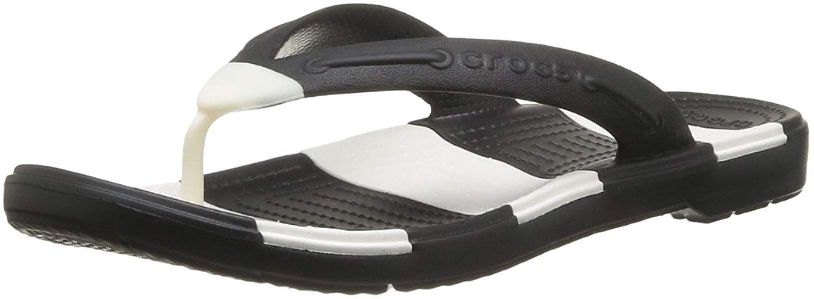 f58301318d9 Crocs Unisex Beach Line Flip Flop