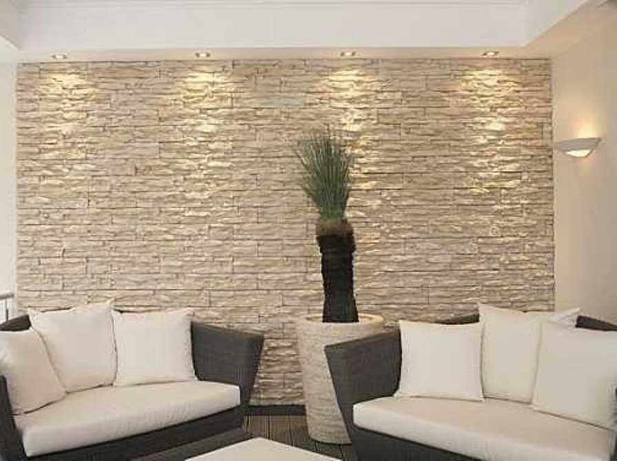 natural stacked stone veneer interior wall cladding ideas ...