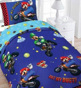 Details About Wii Super Mario Brothers Kart Twin 4pc