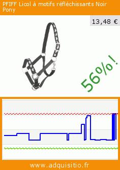 PFIFF Licol à motifs réfléchissants Noir Pony (Sport). Réduction de 56%! Prix actuel 13,48 €, l'ancien prix était de 30,74 €. https://www.adquisitio.fr/pfiff/licol-motifs-2