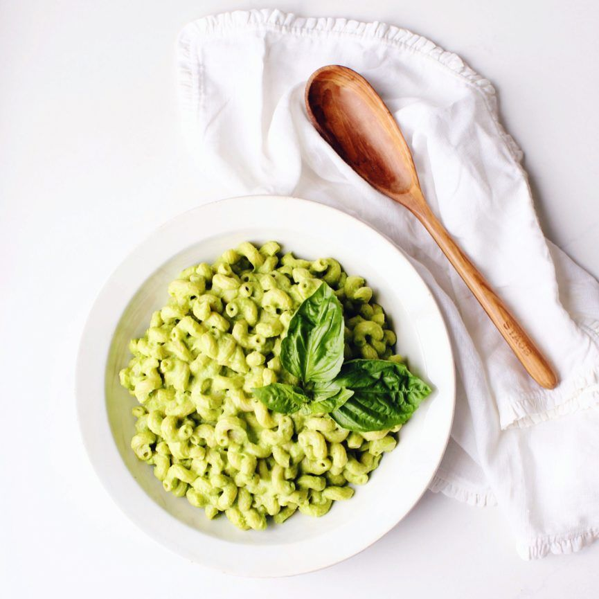 Green Goddess Avocado Pasta Recipe With Images Avocado Pasta Avocado Sauce Pasta Stuffed Avocado Healthy