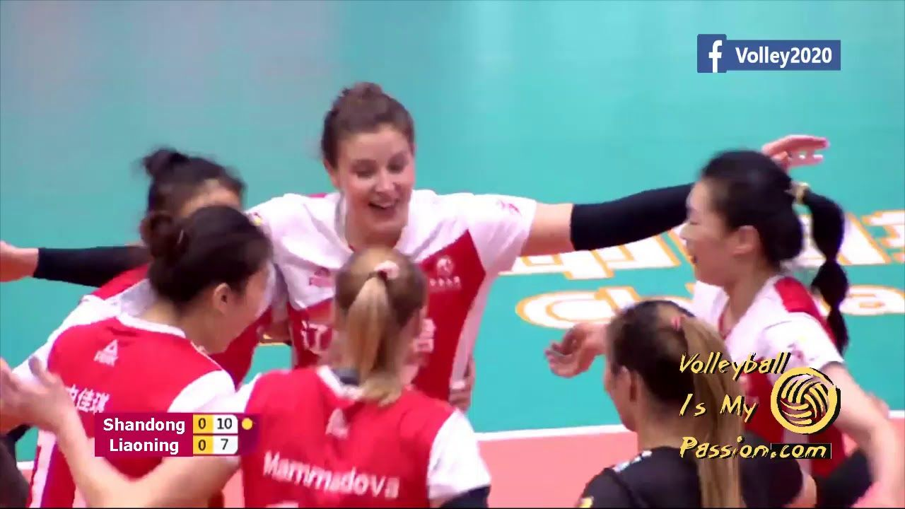 Re1 5th 8th Places Shandong Vs Liaoning China Women S Volleyball S