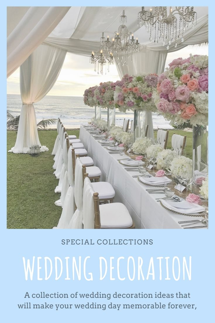 Decorate Your Own Wedding Dinner Using These New Budget Friendly