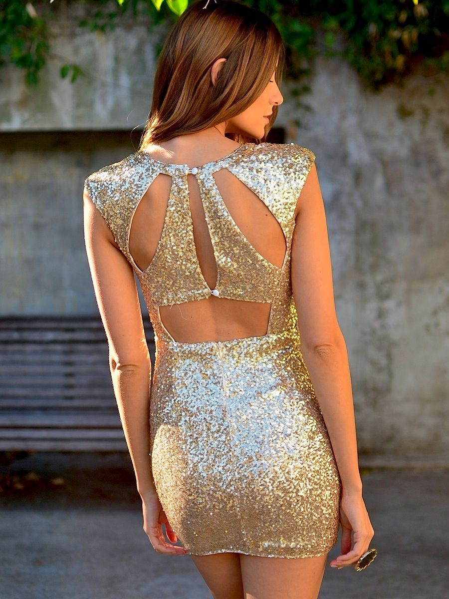 Treasure me dress at mura boutique gold all over sequin dress