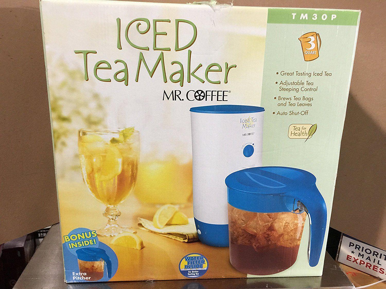 Mr Coffee Ice Tea Maker/ 3 Quart/ Model TM30 This is an
