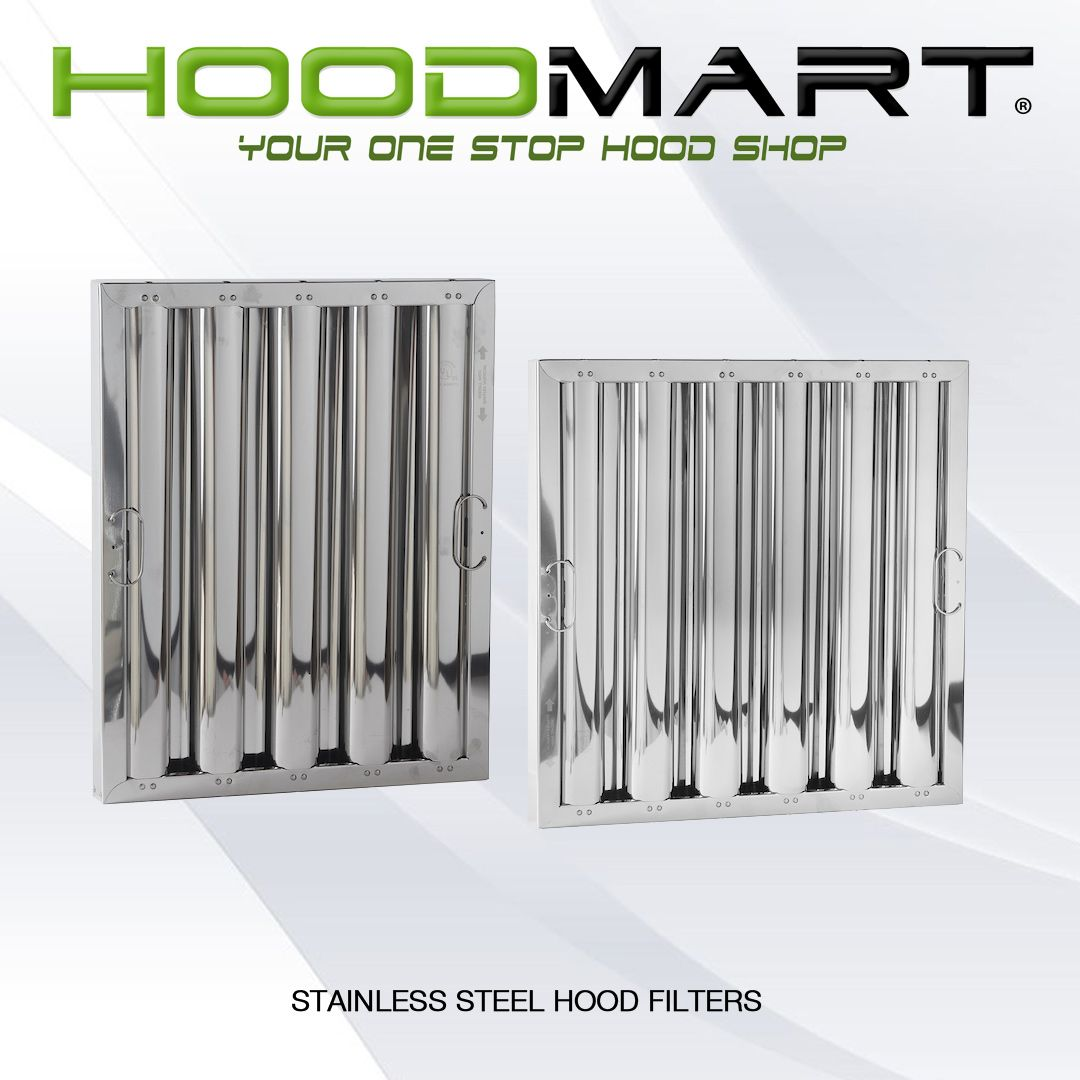 kitchen hood filters backsplash options high efficiency low volume stainless steel filter for commercial exhaust canopy hoods hoodmart is a ventilation project