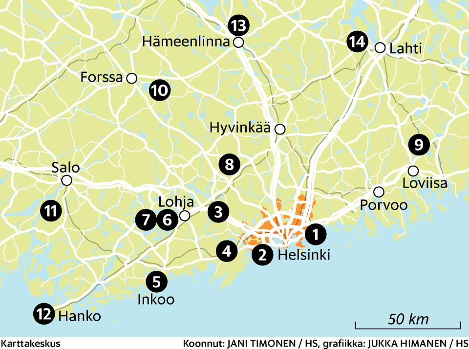 Luontomatka lähelle kannattaa – tässä ovat Etelä-Suomen 14 parasta lähiretkikohdetta | Matkailu | HS