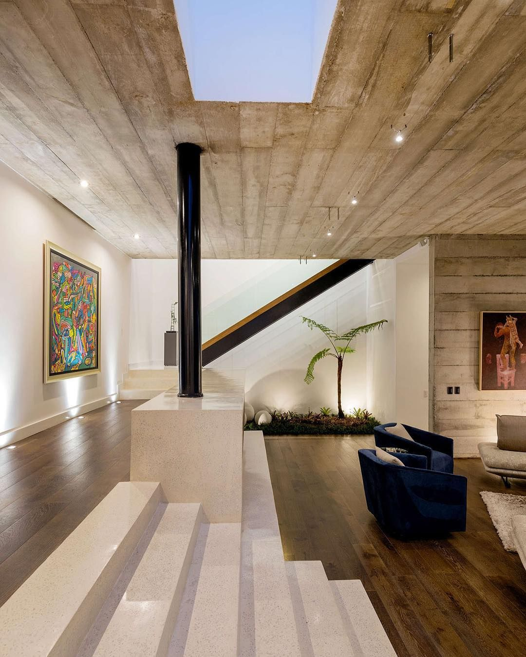 Swipe Left What Do You Think The Lp2 House Is Designed By Paz Arquitectura And Is Located In Guatamalaci Mejor Diseno De Interiores Piso Interiores
