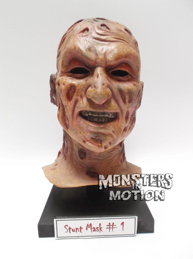 Nightmare On Elm Street Part 1 Freddy Krueger Stunt Mask Prop Mask Freddy Krueger Nightmare On Elm Street