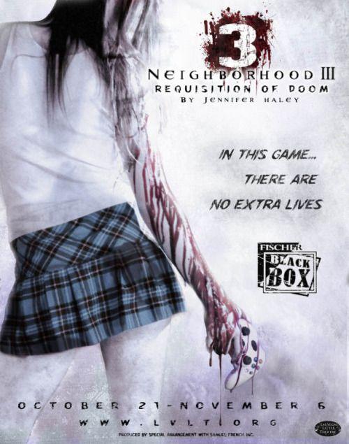 Neighborhood III Requisition of Doom Las Vegas Little Theatre - what is requisition