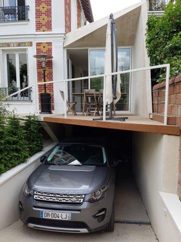 Une extension moderne en béton pour agrandir une maison bourgeoise - plan d une maison simple