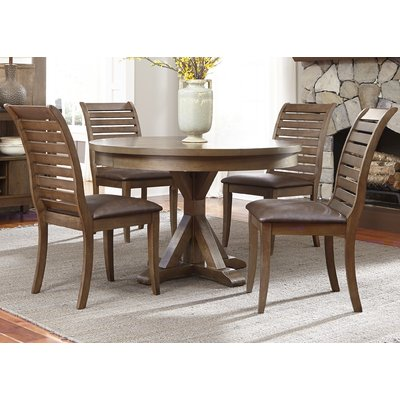 Best Gracie Oaks Christiana Upholstered Dining Chair Set Of 2 Round Dining Table Sets Solid Wood 640 x 480