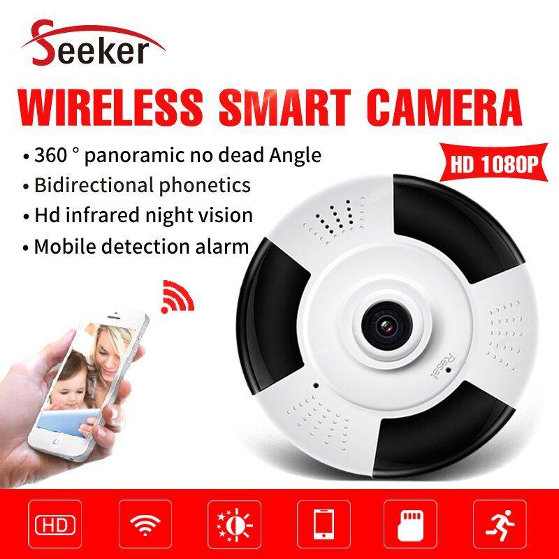 New 360 Degree Fisheye Panoramic Wireless Camera Smart Phone View