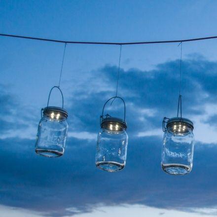 decovry Consol Retro Lamp op Zonne energie