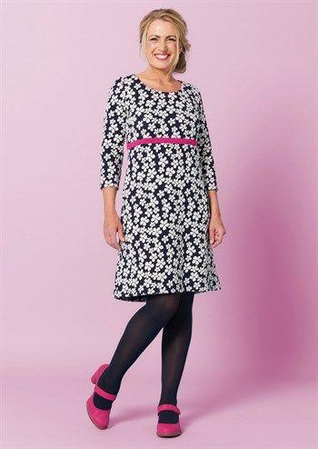 Ingeborg Lækker Pink Kjole Charles Med Blomstret Flower Dress q5RRUvt