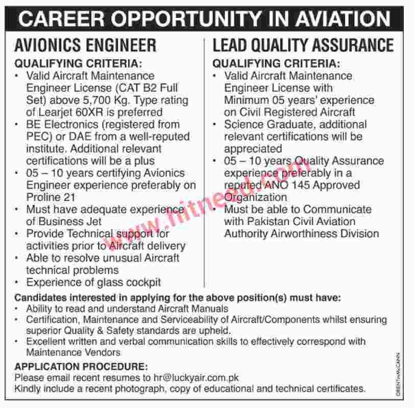 Jobs In Aviation Avionics Engineer Qualifying Criteria Valid