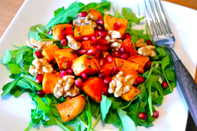 Can the right salad help you get pregnant? #fertility #salad