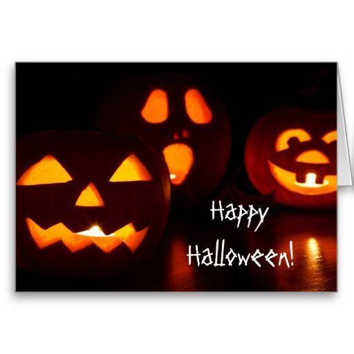 Pumpkin Jack O' Lantern Halloween Greeting Card   Zazzle.com #samhainrecipes Pumpkin Jack O' Lantern Halloween Greeting Card #samhainrecipes