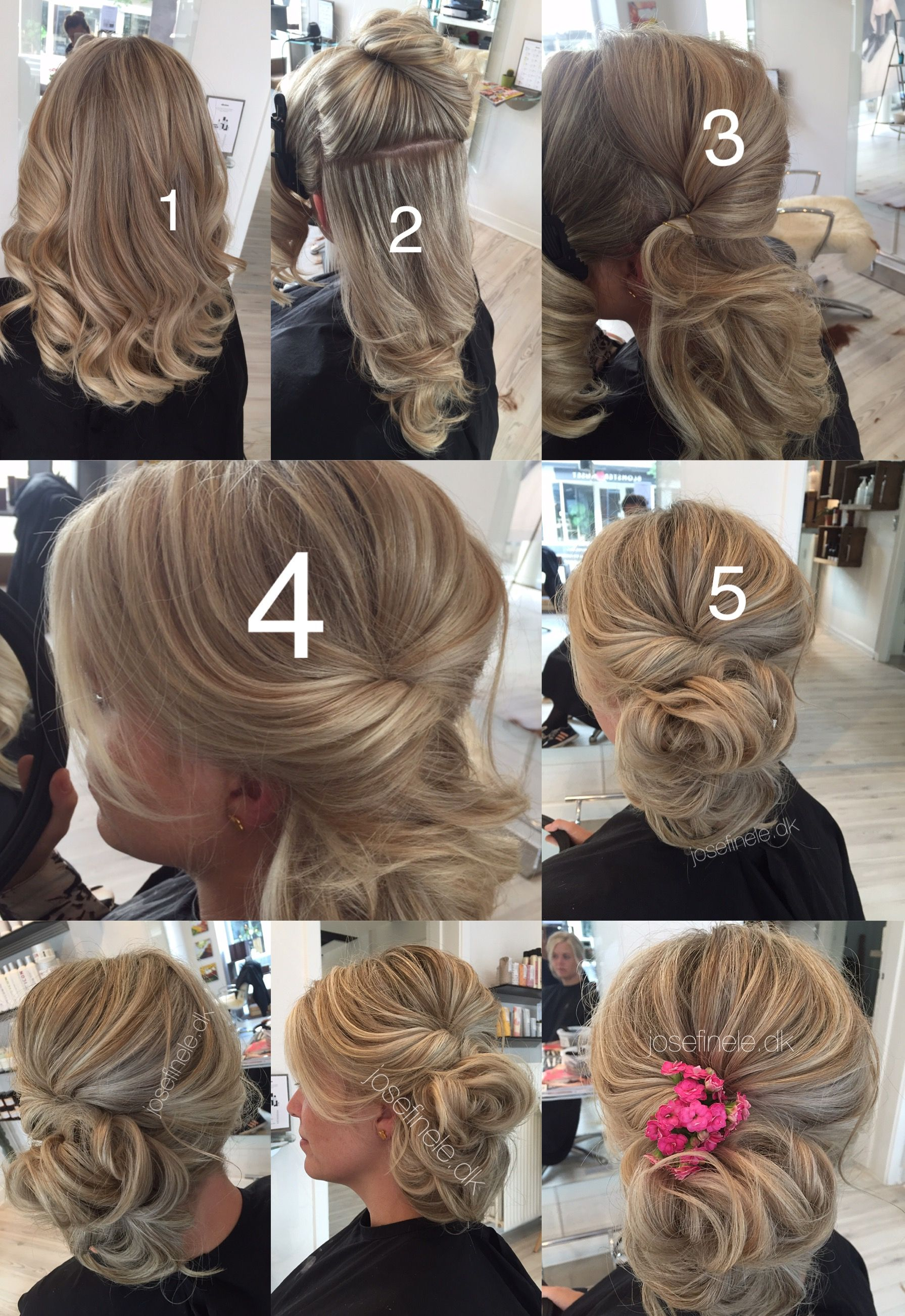 Quick And Easy Updo You Can Wear To Wedding Girl Night Out Dinner Party Hair Styles Girls Night Out Hair