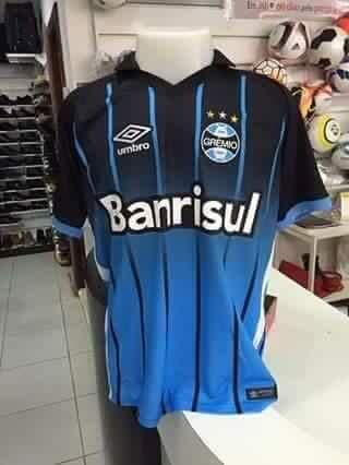 68a248439a Suposta terceira camisa do Grêmio vaza na internet antes do lançamento   globoesporte