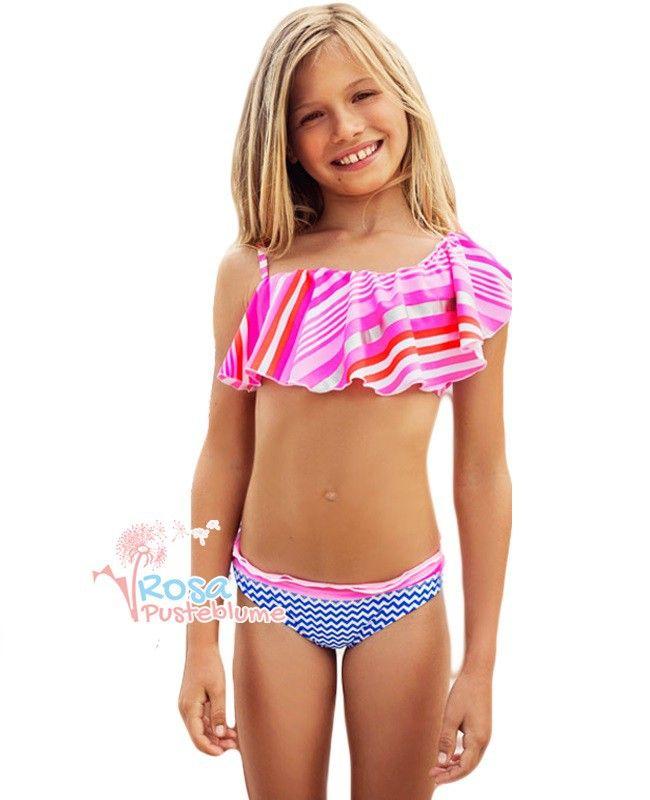 mim pi bikini volant pink blue r pusteblume mim pi. Black Bedroom Furniture Sets. Home Design Ideas