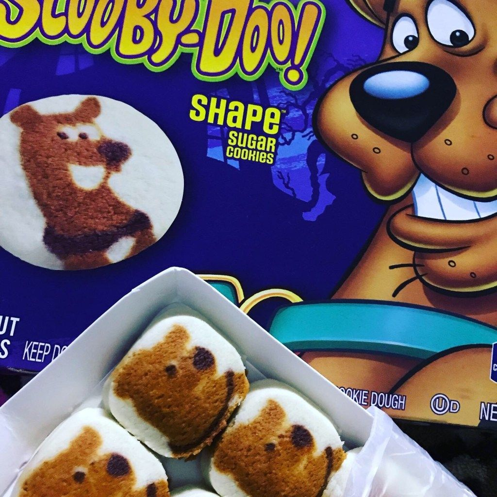 scooby doo cinnamon ice cream sandwiches - sugar #icecreamsandwich