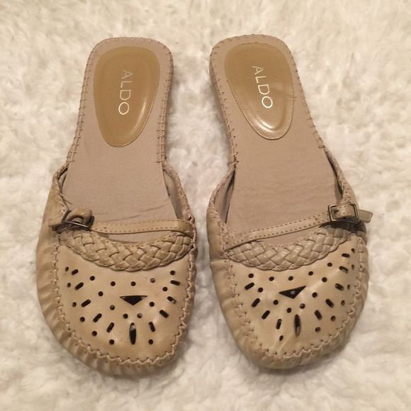 Aldo flat Great shoes used only inside/ size 8 fits 7.5/ no flaws/ ALDO Shoes Flats & Loafers
