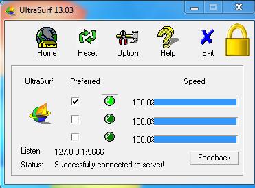 Ultrasurf Phần mềm, Facebook, Quảng cáo