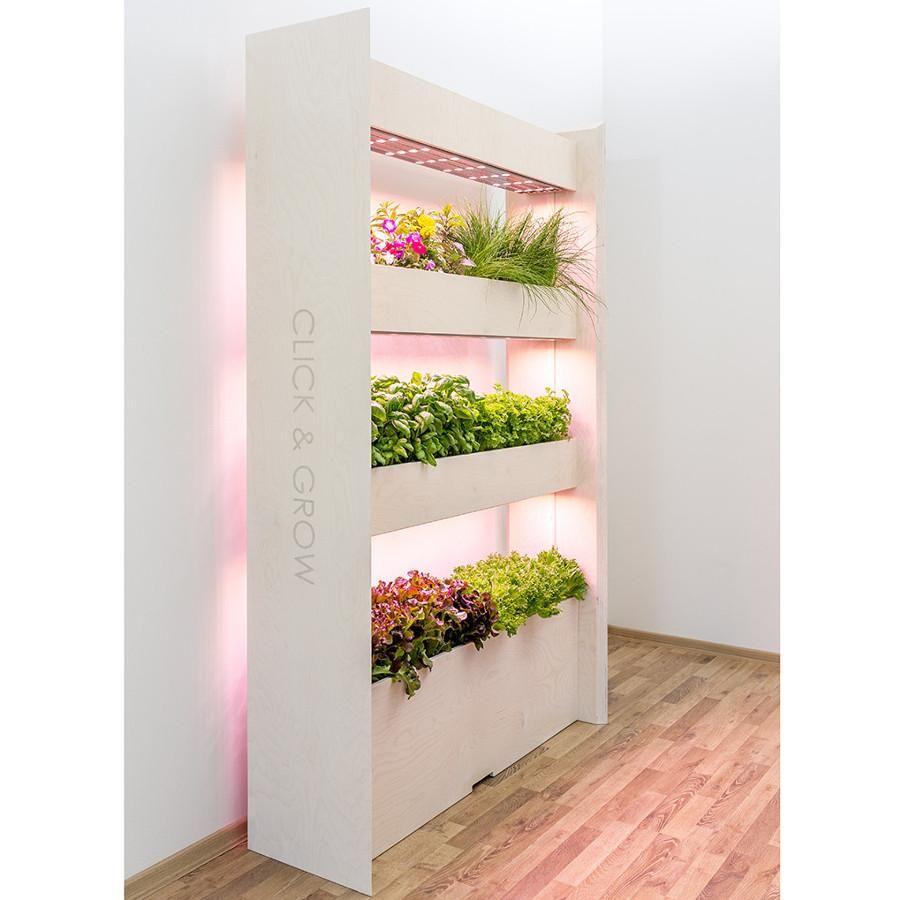 Wall Farm For 51 Plants 3 Shelves Grow Fresh Food In 640 x 480