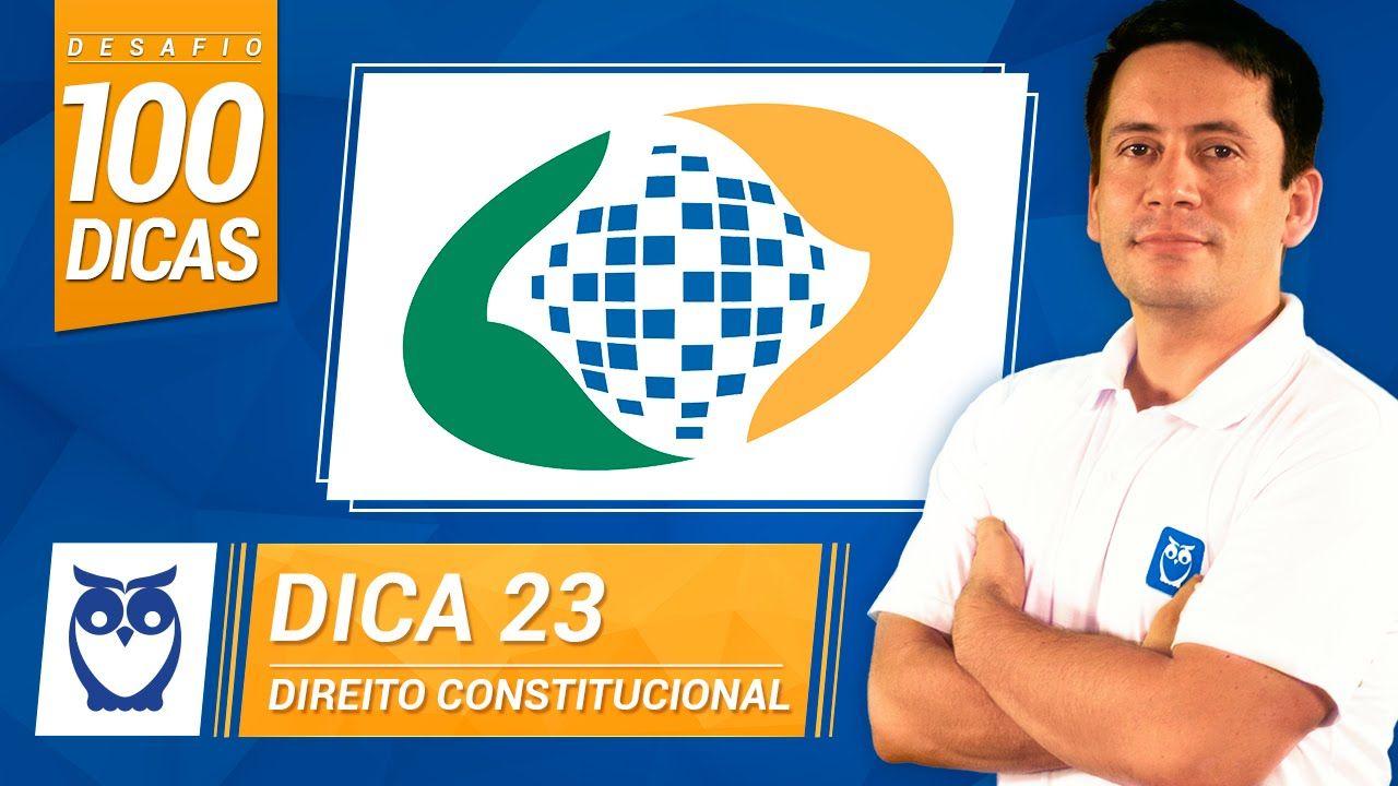 Dica 23 do Desafio 100 Dicas para INSS. Dica de Direito Constitucional por Prof. Ricardo Vale