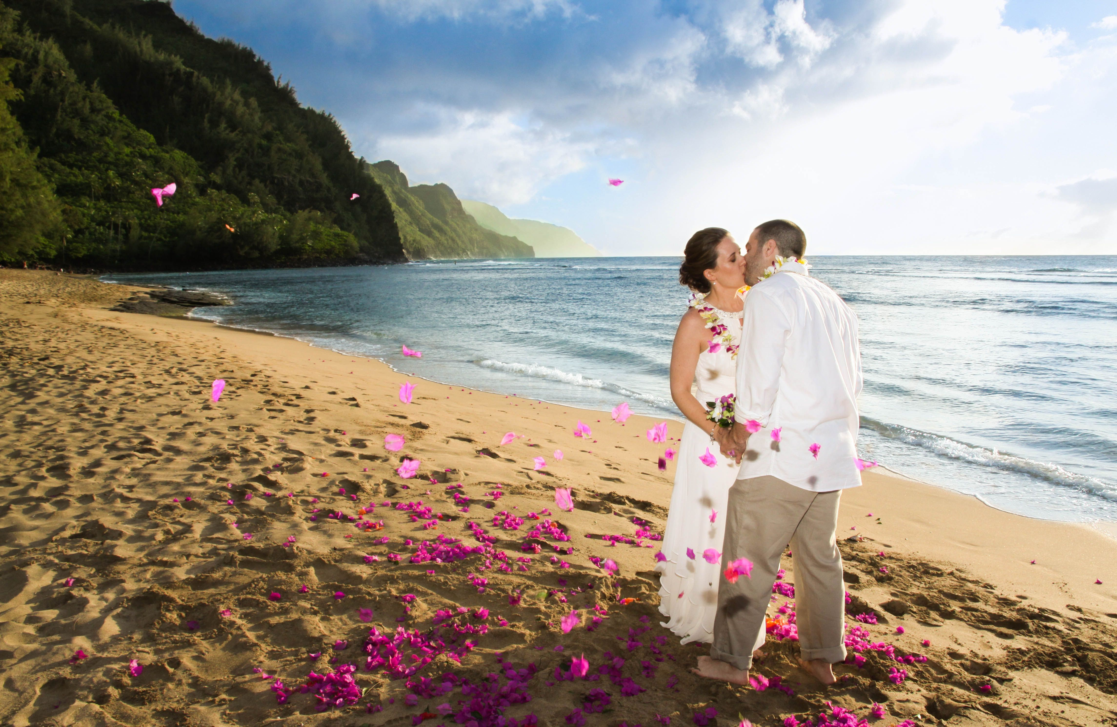 Kee Beach Kauai Hawaii North Shore Wedding Planner Destination