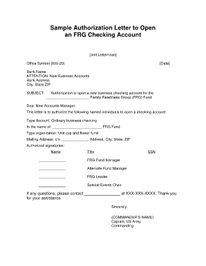 Authorised Signatory Letter Format For Bank Fill Online Printable