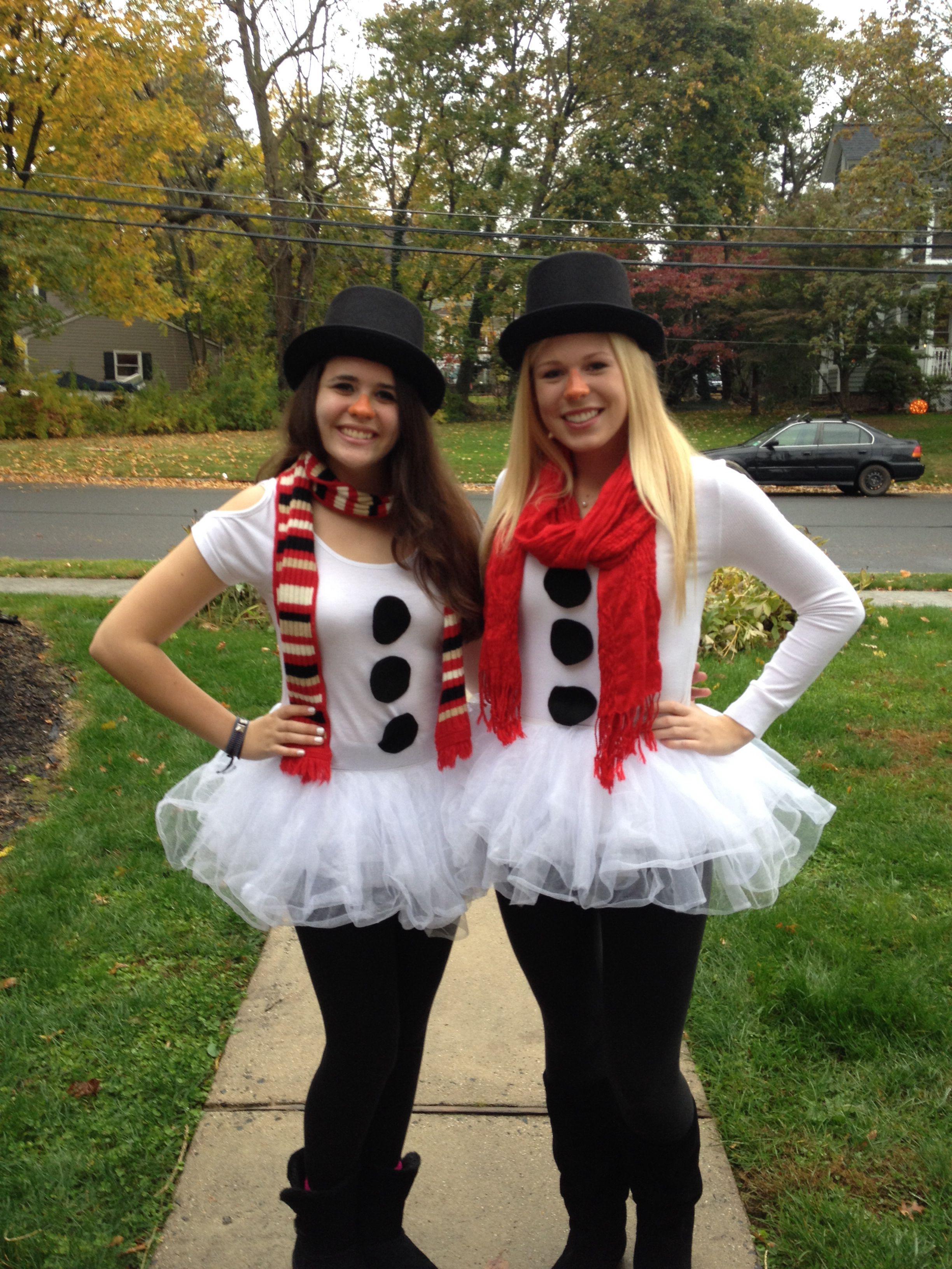 snowman Halloween costume! Christmas costumes diy