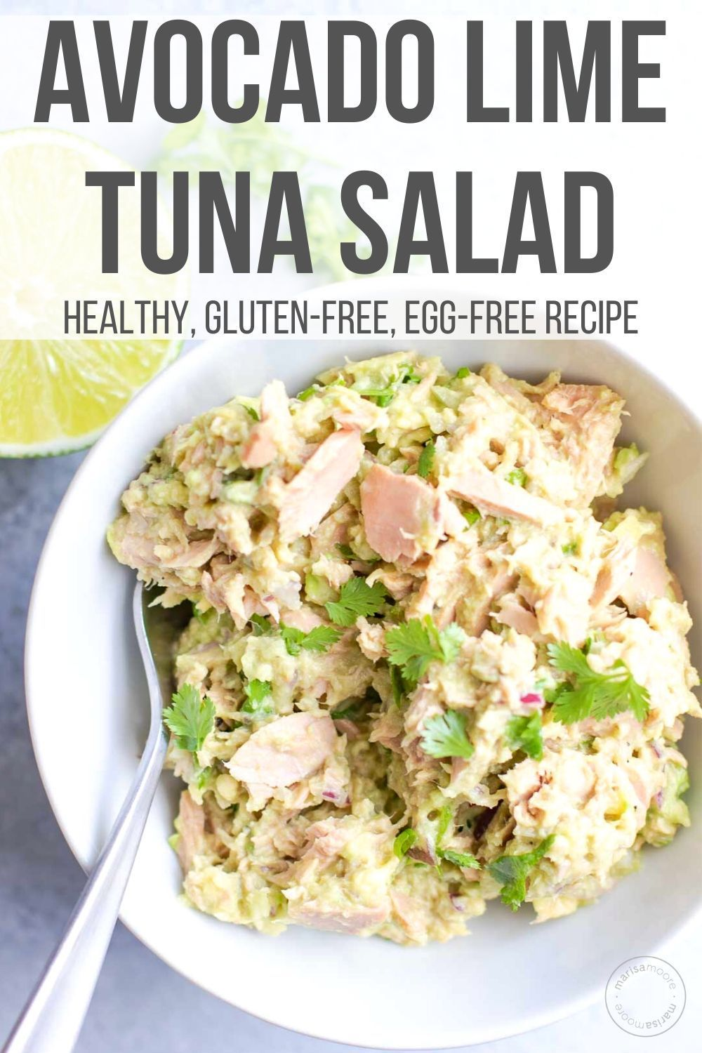 Avocado Lime Tuna Salad Recipe Tuna Salad Recipe Healthy Healthy Tuna Recipes Healthy Tuna Salad