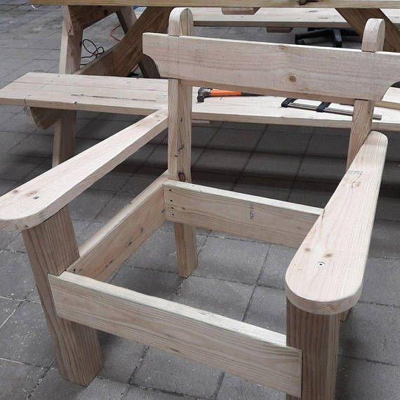 Bankje En Stoel.Garden Chair And Bench Combo Woodworking Plans Woodworkingbench