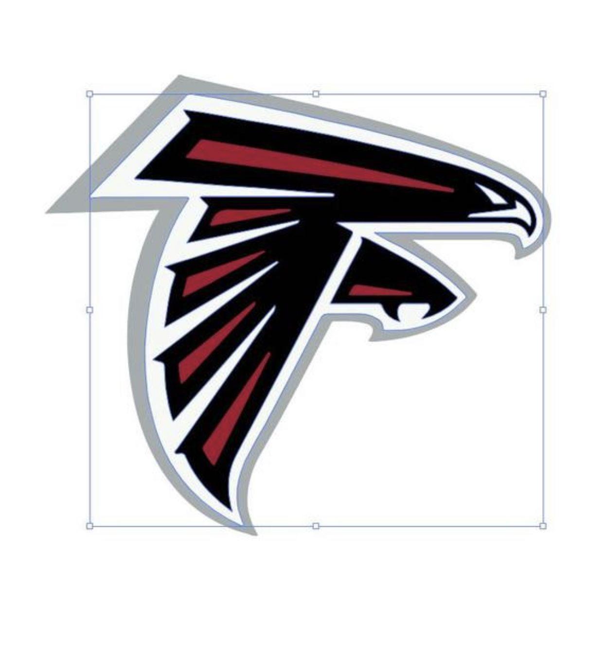 Falcons Logo Svg In 2020 Falcon Logo Logos Nfl Football Logos