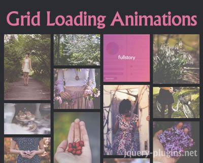 Inspiration for Grid Loading Animations #grid #animation