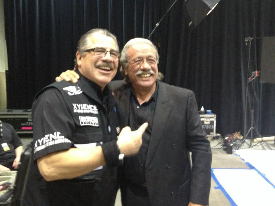 Stitch Duran And His Doppelganger Edward J Olmos Ufc Mma Duran