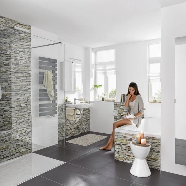 Traumbader Und Luxusbader Badezimmer Neubau Renovieren Wandverkleidung Bad