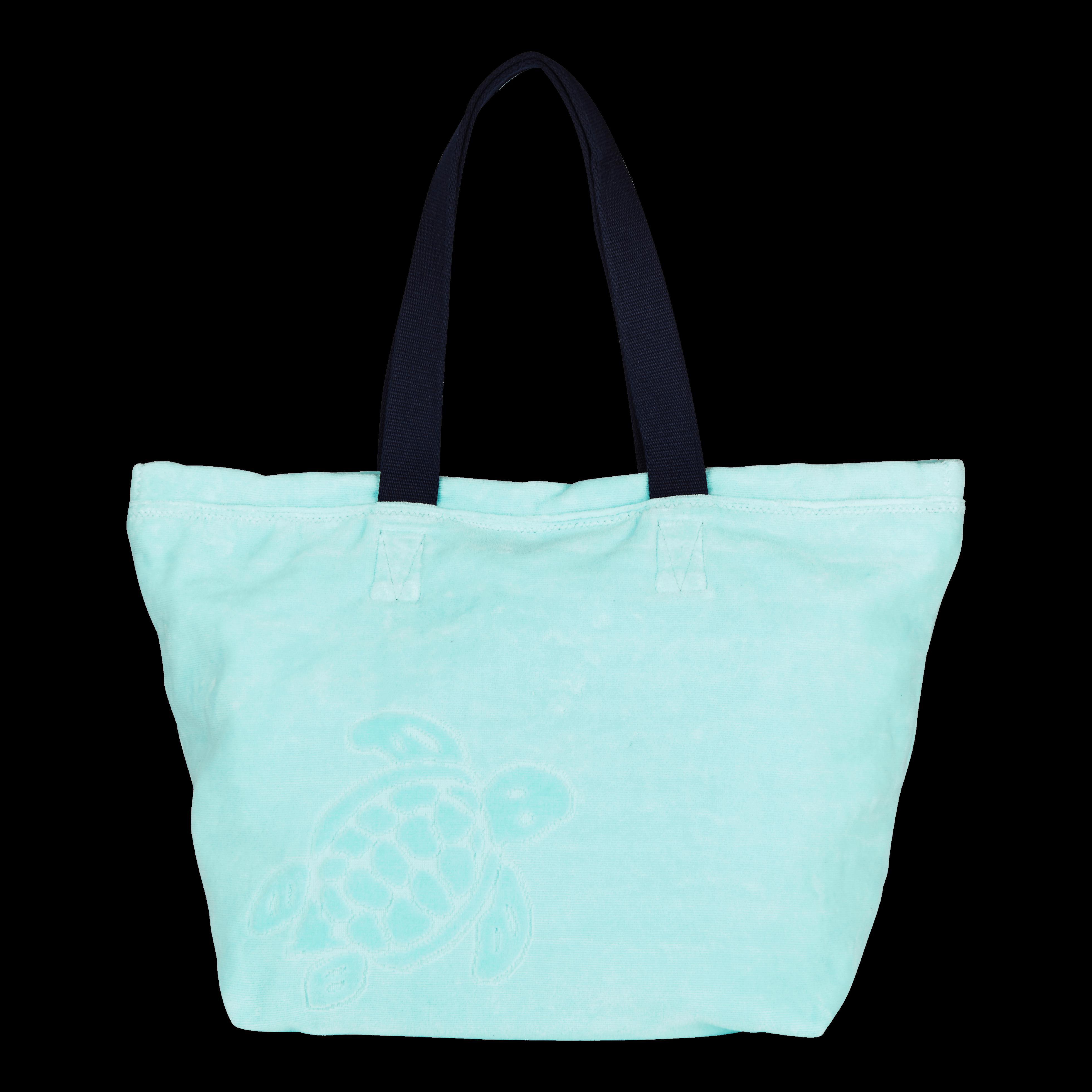 c4b30f43e3 VILEBREQUIN MEN ACCESSORIES - LARGE TERRY CLOTH BEACH BAG SOLID JACQUARD - BEACH  BAG - BARNEY. #vilebrequin #bags #velvet #travel bags #beach #cotton