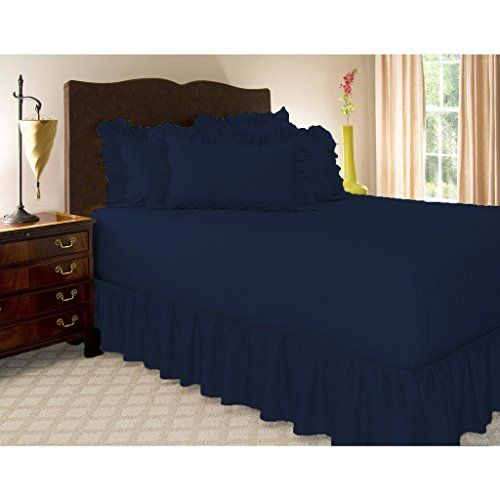 Hotel Luxury Quality Egyptian Cotton 1 Pc Bed Skirt With 9 Inch Drop Length