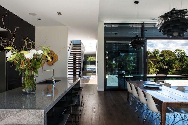 Classic Modern Property In New Zealand 2015 interior design - moderne huser 2015