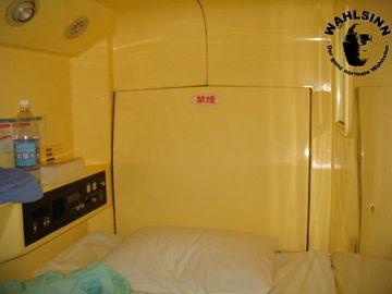 Japan // Tokio - Asakusa Kapsel Hostel: Das Bett
