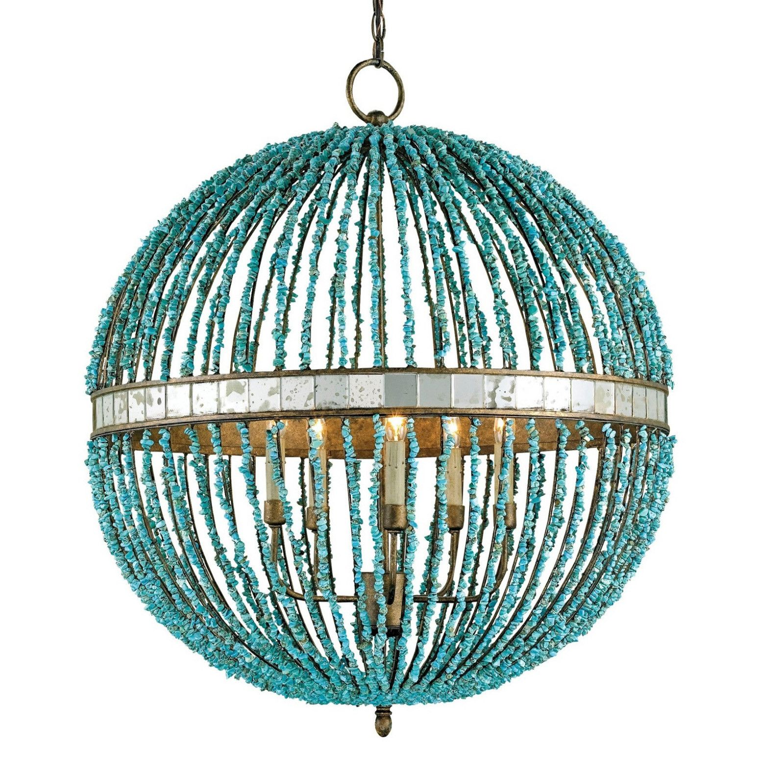 Alberto chandelier orb chandelier candelabra bulbs and candelabra alberto orb chandelier by currey company cupertino with turquoise beads 9763 aloadofball Gallery