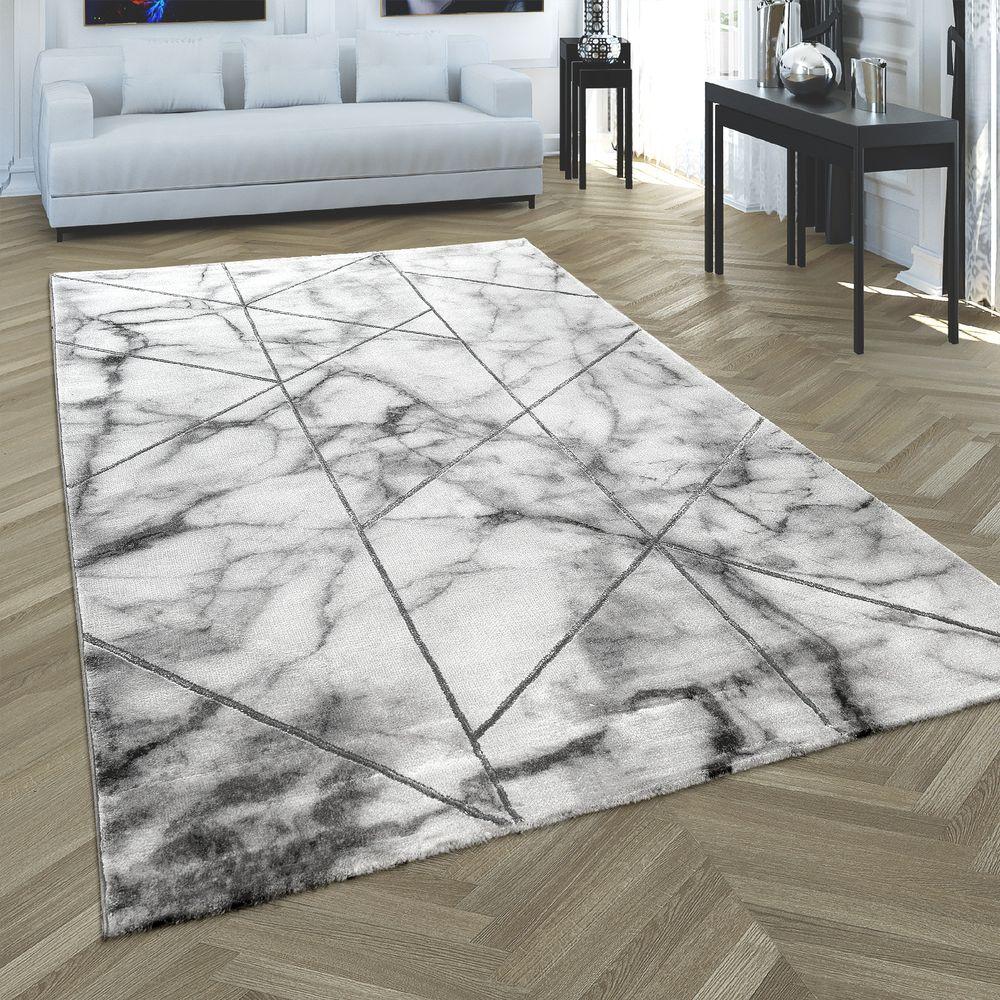 Teppich Marmor Look 3 D Muster Teppich Wohnzimmer Teppich
