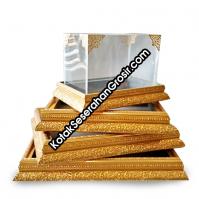 Box Seserahan Akrilik Frame Warna Gold Kode Berat