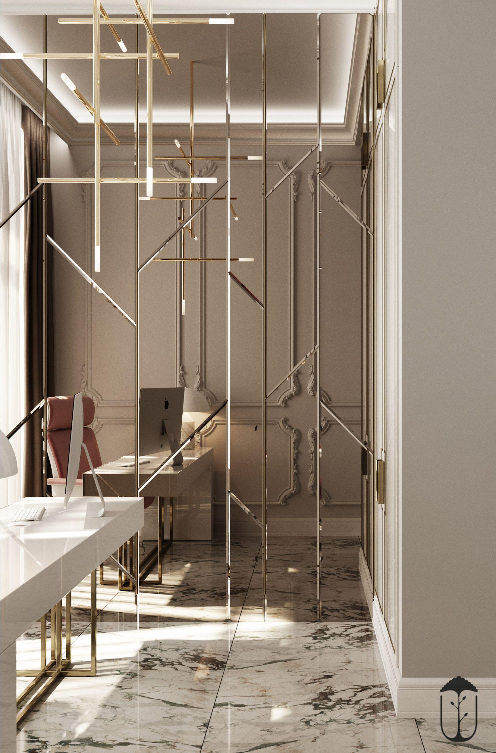Mirror Design Wall Image By U Style Studiya On Ui029 Foyer Design