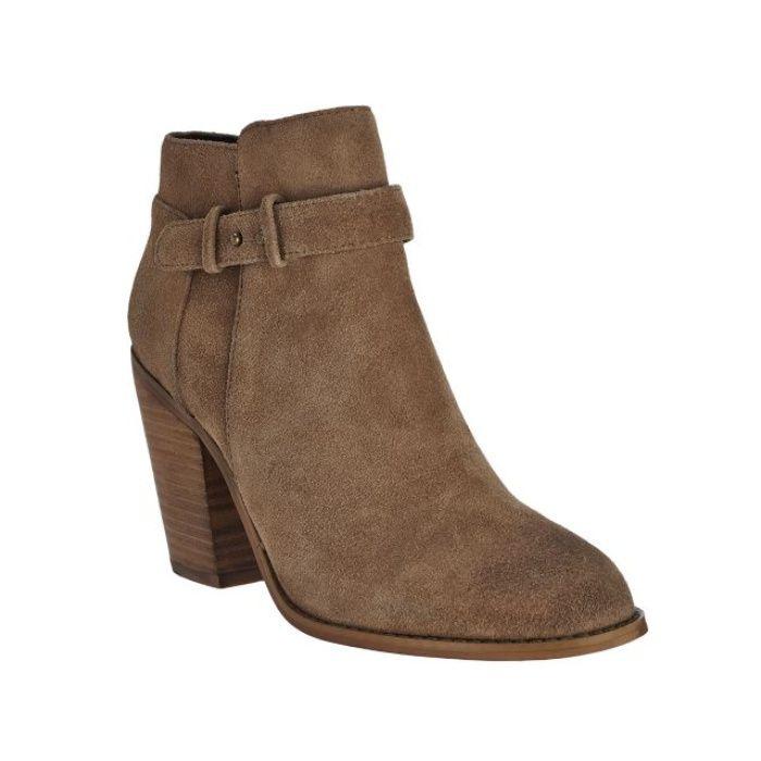Raela, Chaussures à Talon avec Sangle à la Cheville Femme - Gris - TaupeSteve Madden