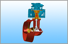 Retractable Azimuth Thruster WRSP110 Input Power: 100~330 kw Input