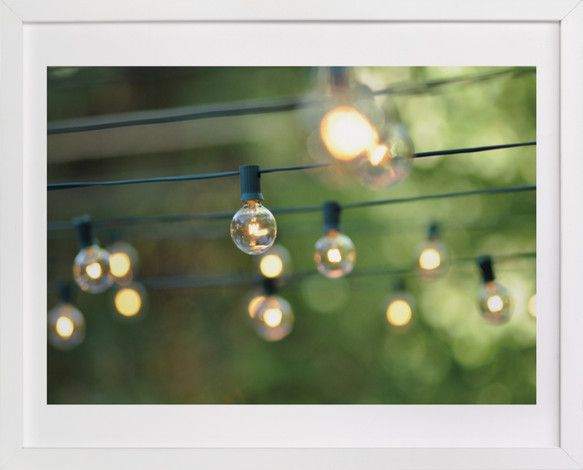 String of Lights by L. Daniel at minted.com